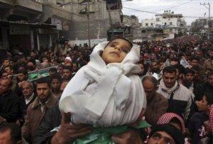 De  cada 10 daños colaterales 3 son niños