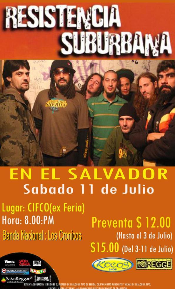 RESISTENCIA SUBURBANA EN EL SALVADOR