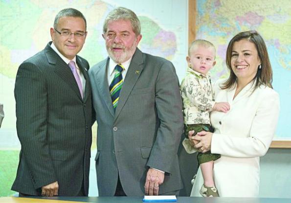 VISITA DEL PRESIDENTE ELECTO DE EL SALVADOR A BRASIL