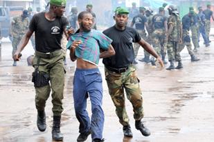 represion en guinea