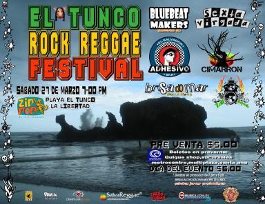 EL TUNCO ROCK REGGAE FESTIVAL